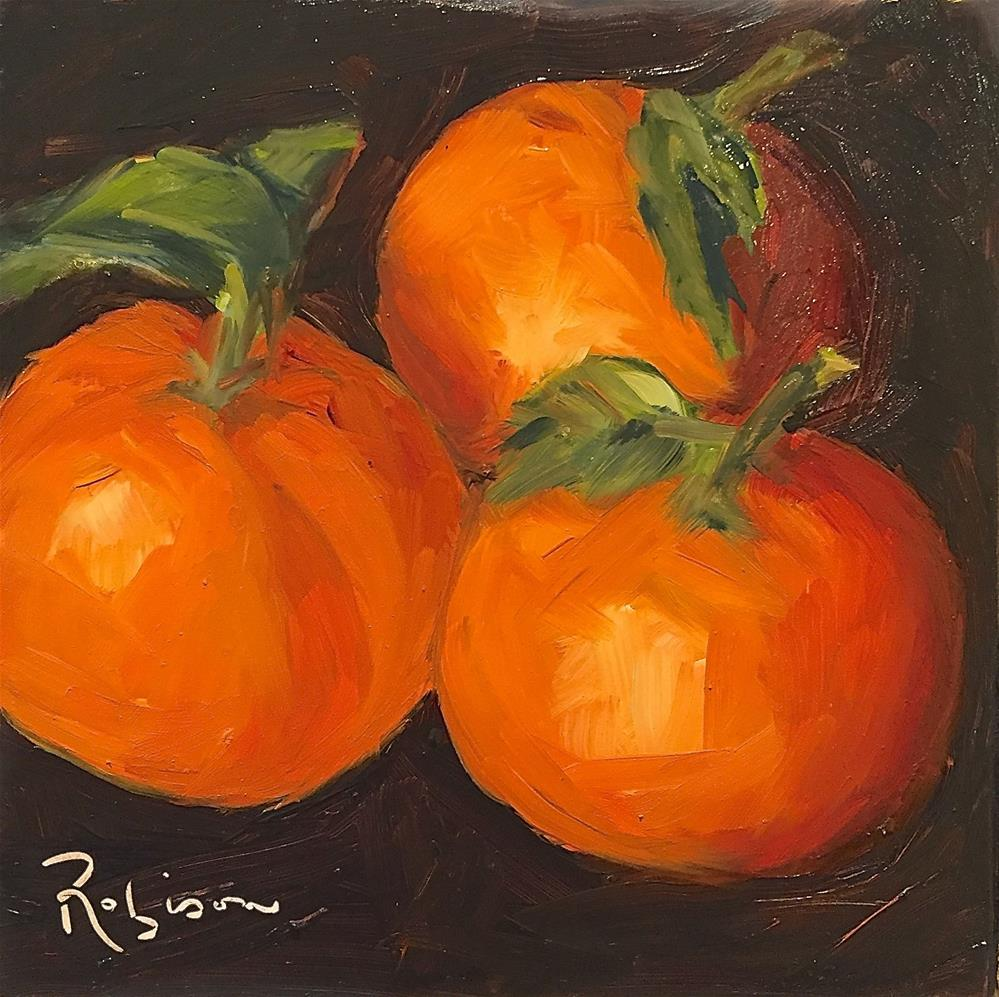 """Clementines for Clemence"" original fine art by Renee Robison"