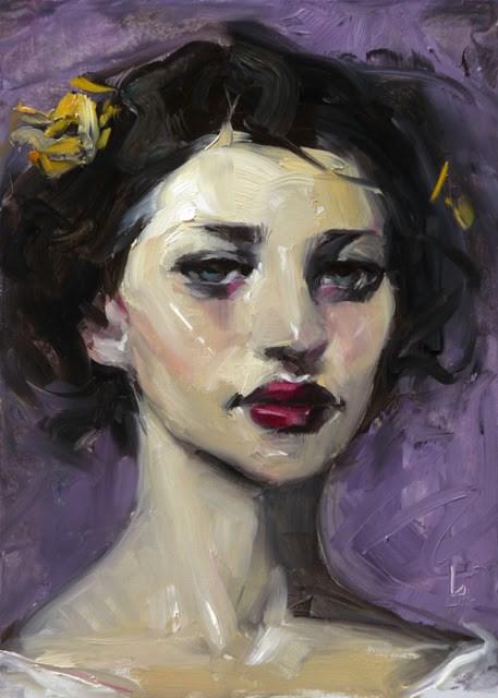"""Pollinator"" original fine art by John Larriva"