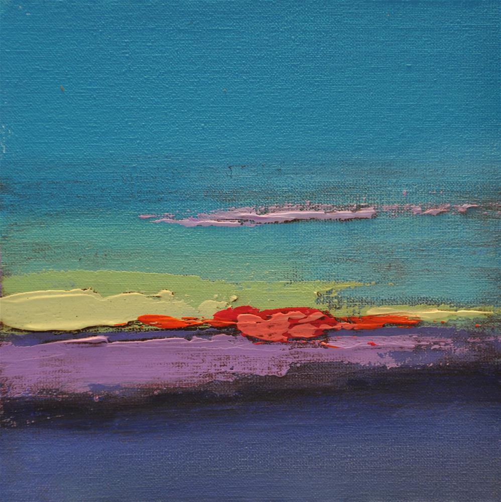 """Landscape 163"" original fine art by Ewa Kunicka"