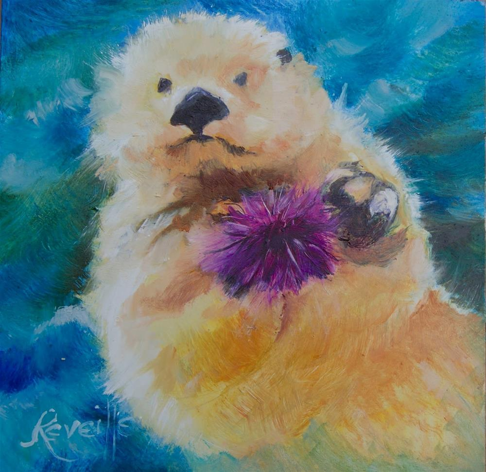 """Sunshine"" original fine art by Reveille Kennedy"