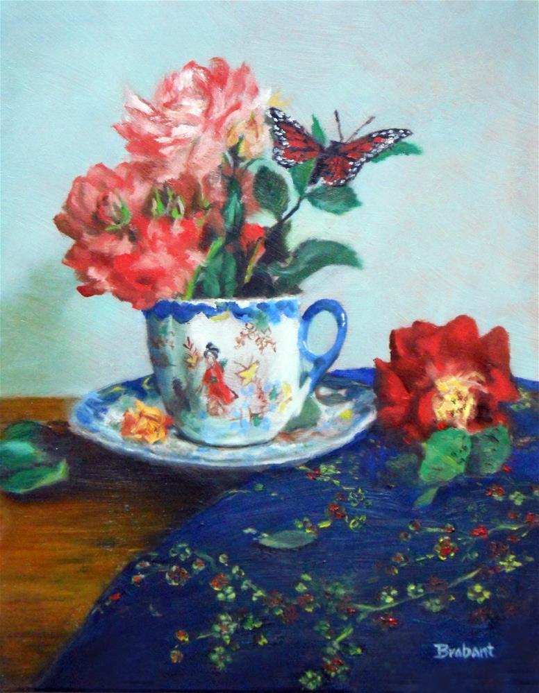 """Serenity"" original fine art by Jill Brabant"