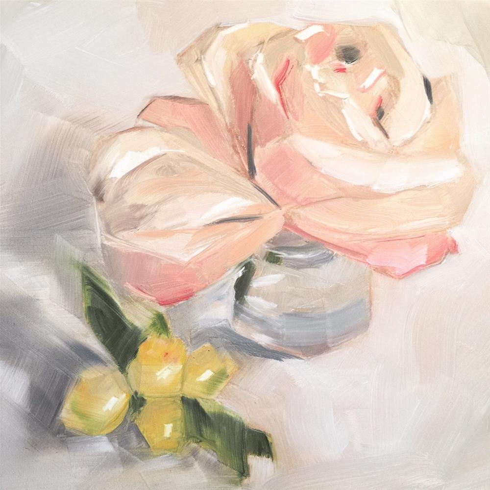 """""""442 Petals and Kumquats"""" original fine art by Jenny Doh"""