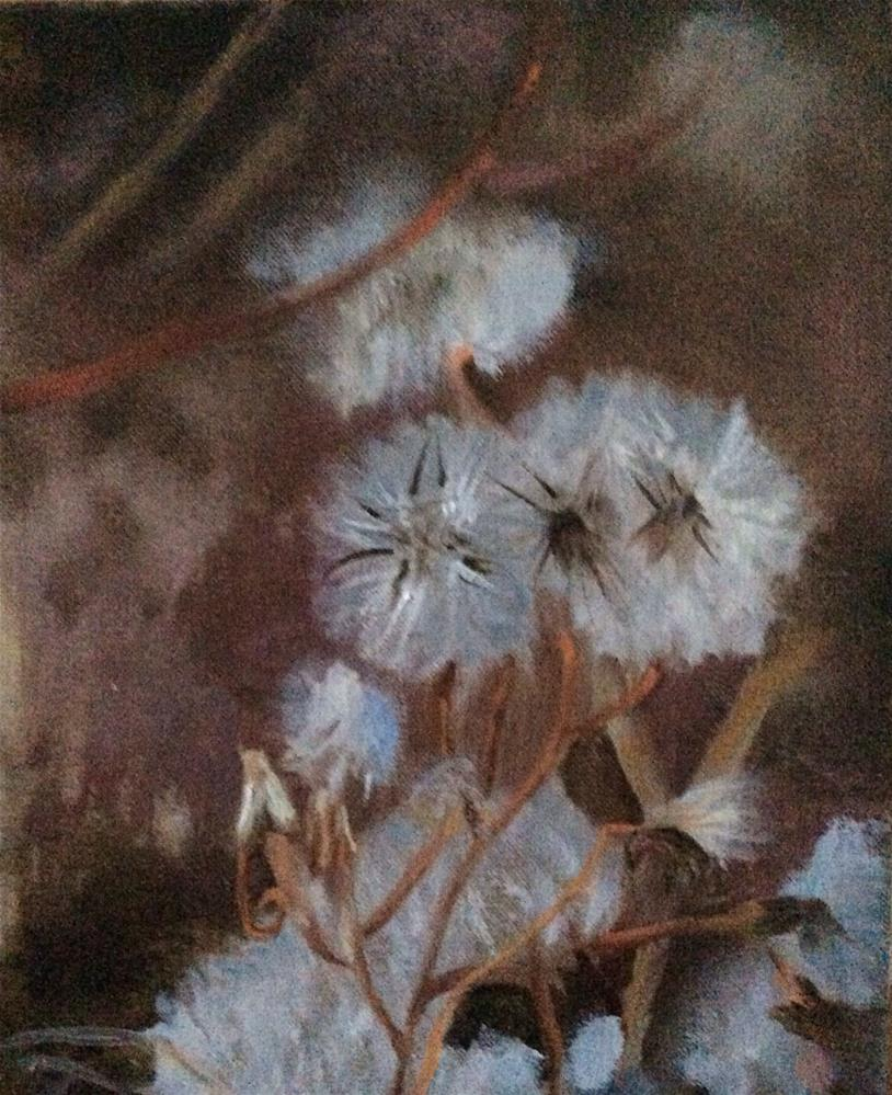 """Among the Weeds"" original fine art by Charlotte Lough"