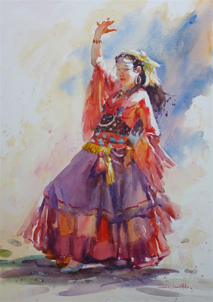 """Dancing Colours"" original fine art by Lorraine Lewitzka"