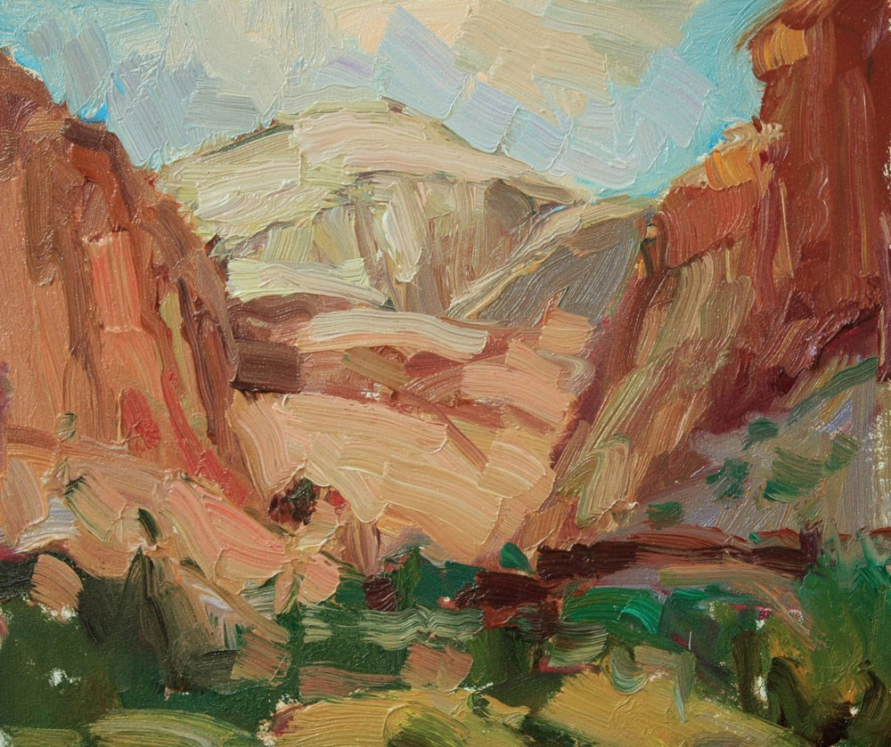 """Capitol Reef Dome"" original fine art by Kathryn Townsend"