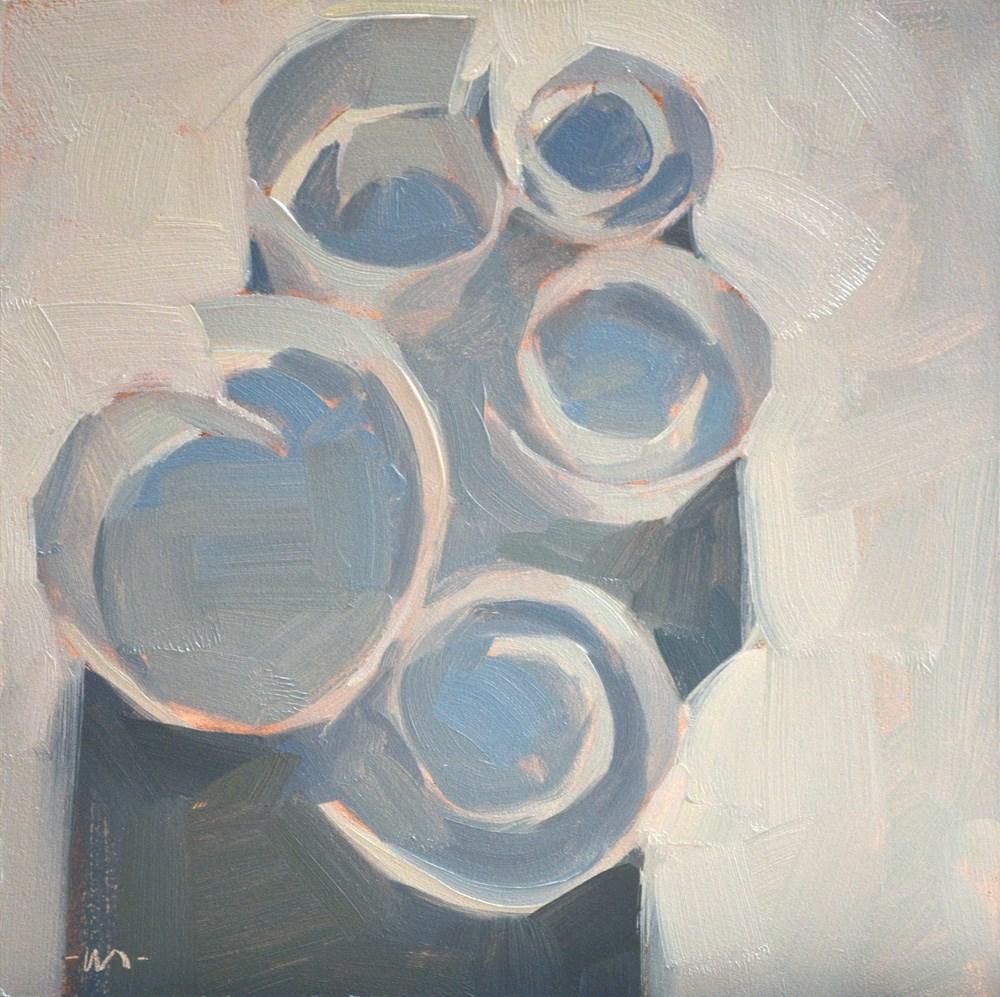 """""""Spiralizer"""" original fine art by Carol Marine"""