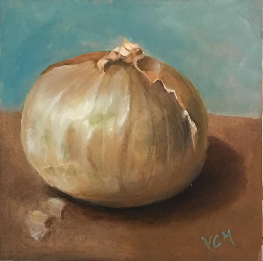 """Big Onion"" original fine art by Vana Meyers"