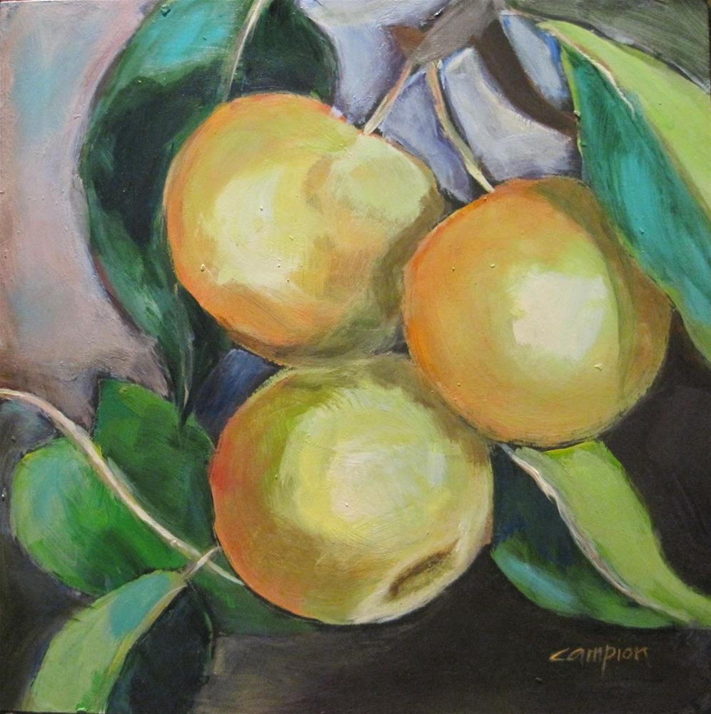 """491 Ripe For The Picking"" original fine art by Diane Campion"