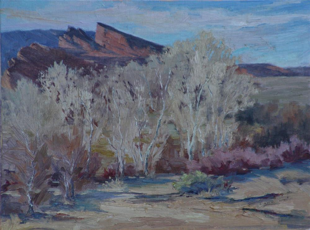 """South of Red Rocks"" original fine art by Sheila Marie"