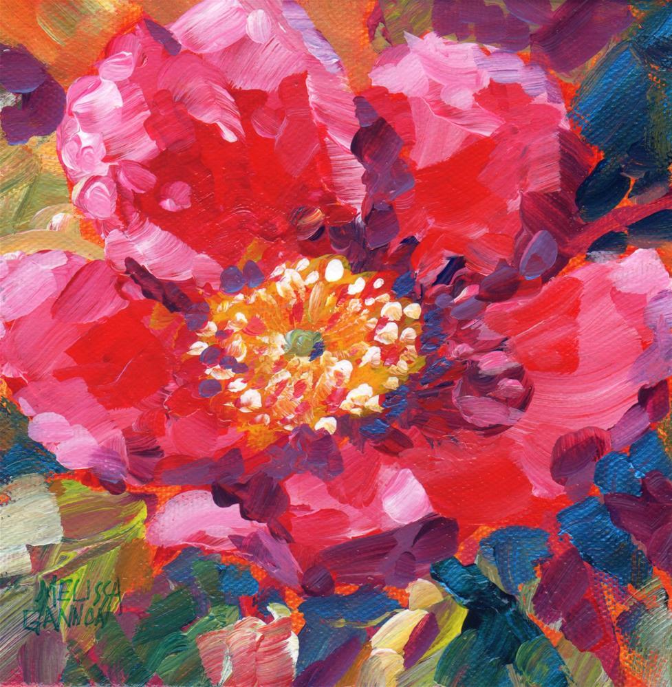 """New Rose"" original fine art by Melissa Gannon"