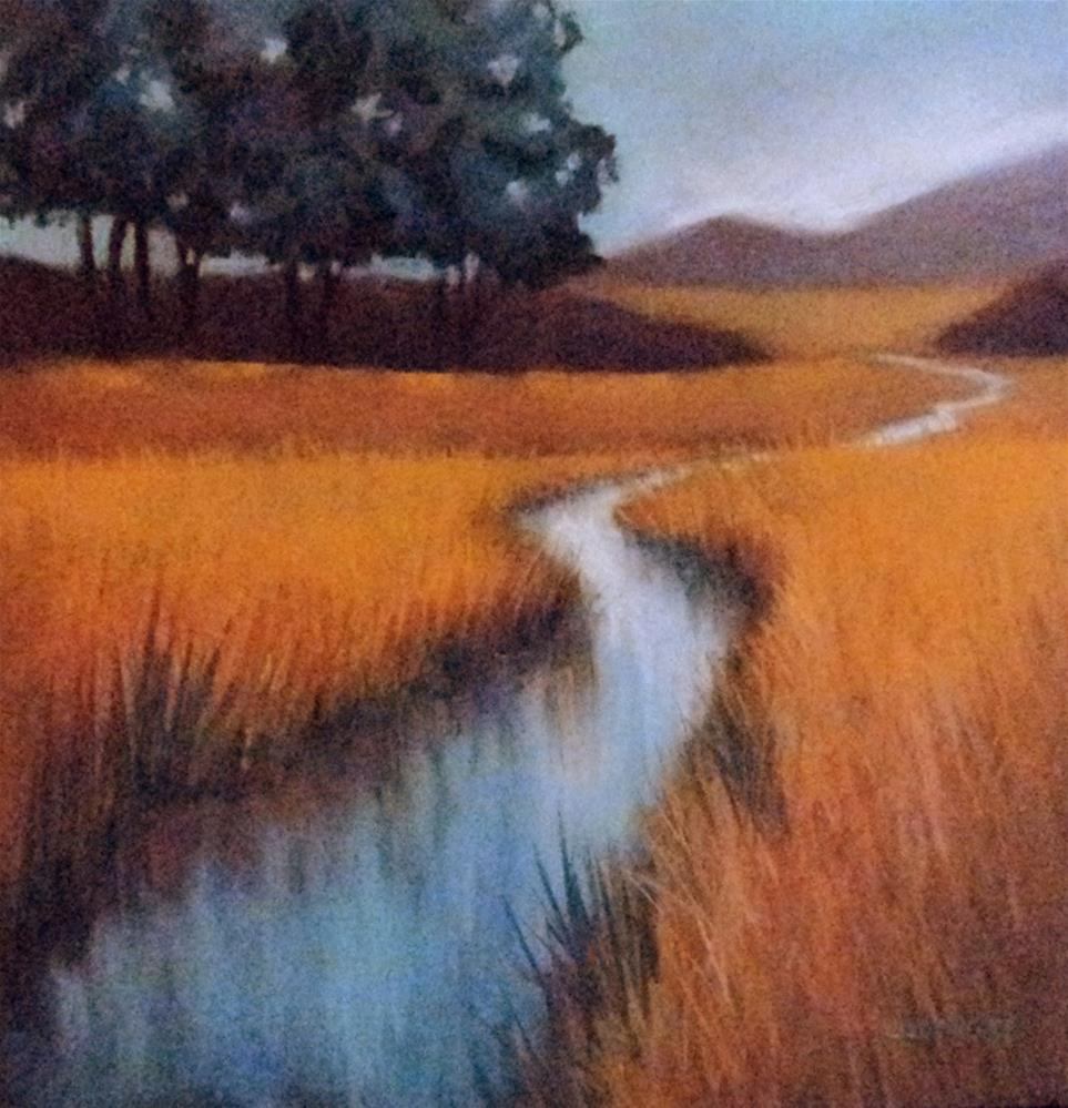 """River to Knowhere"" original fine art by Judy Albright"