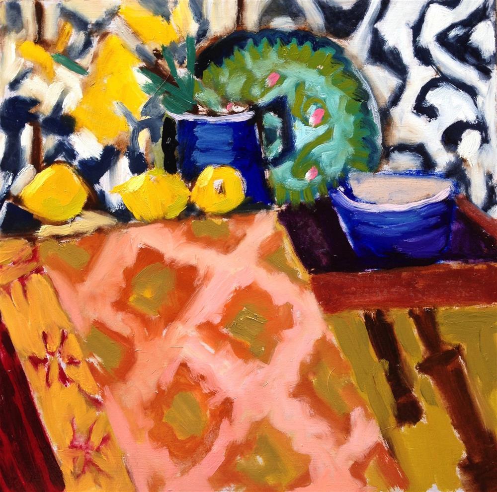 """Pattern Painting"" original fine art by Pamela Hoffmeister"