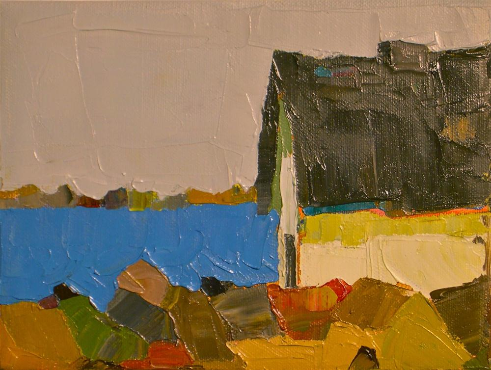 """Bay Side"" original fine art by Donna Walker"