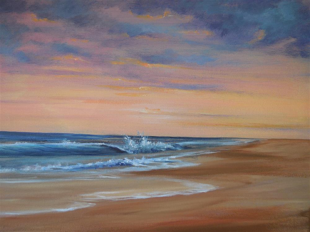 """Carolina Coast"" original fine art by Terri Nicholson"