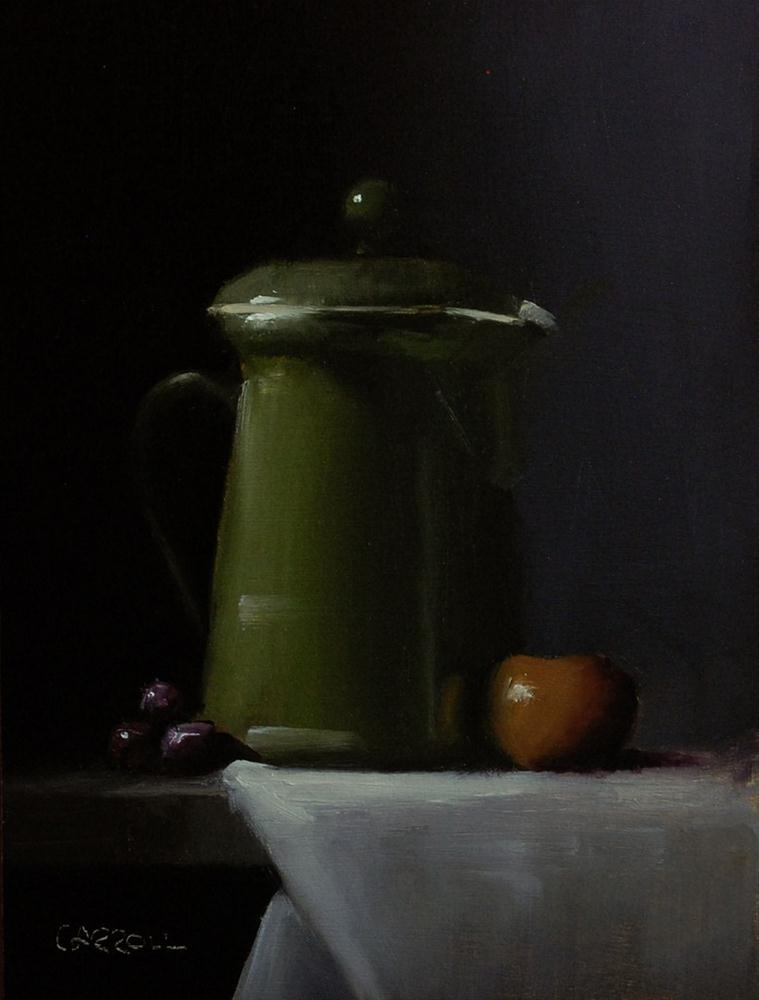 """Coffee Pot"" original fine art by Neil Carroll"