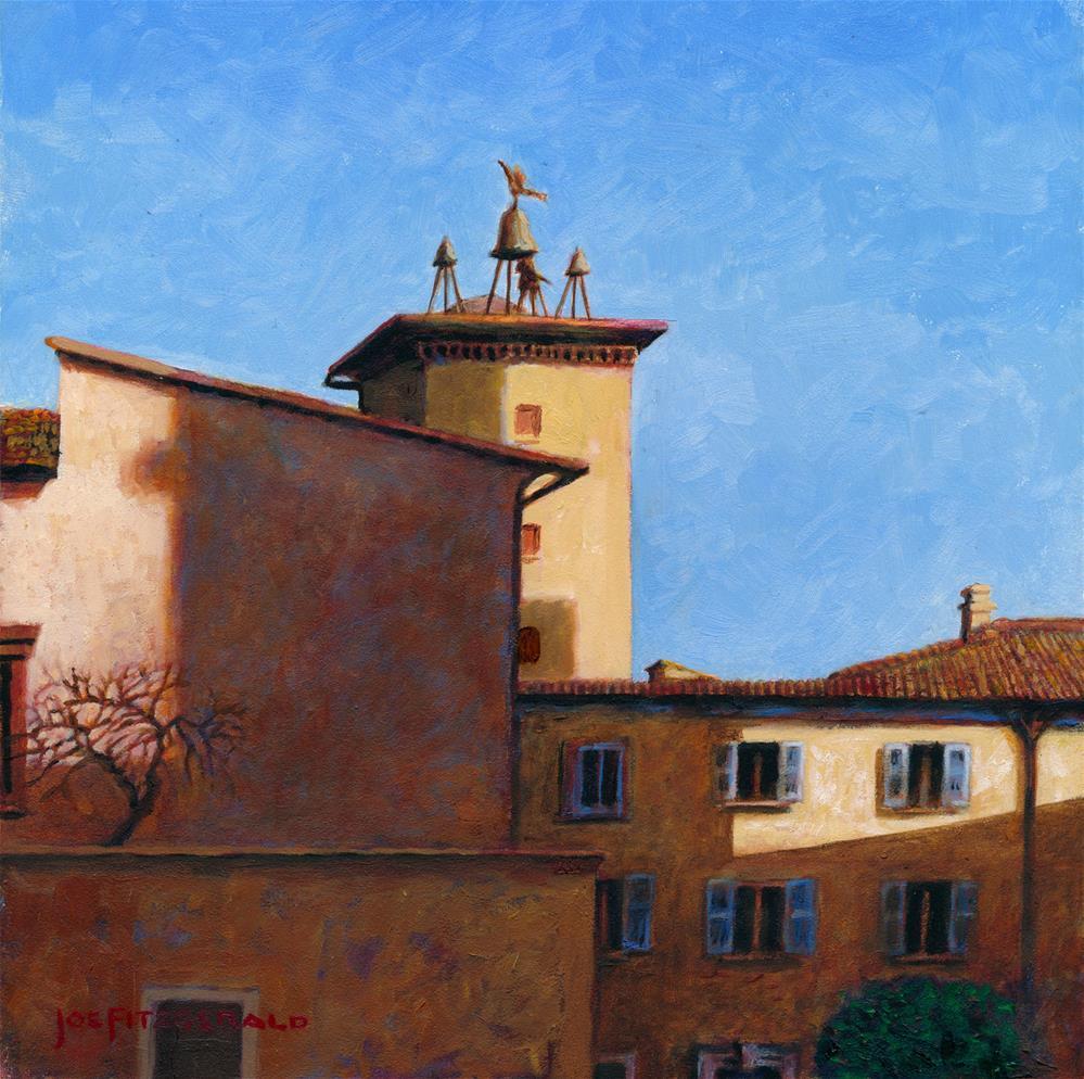 """Orvieto"" original fine art by Joe Fitzgerald"