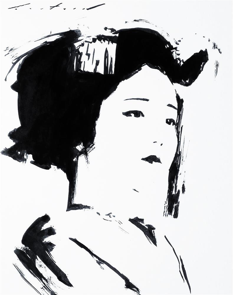 """Katsuna"" original fine art by Phil Couture"
