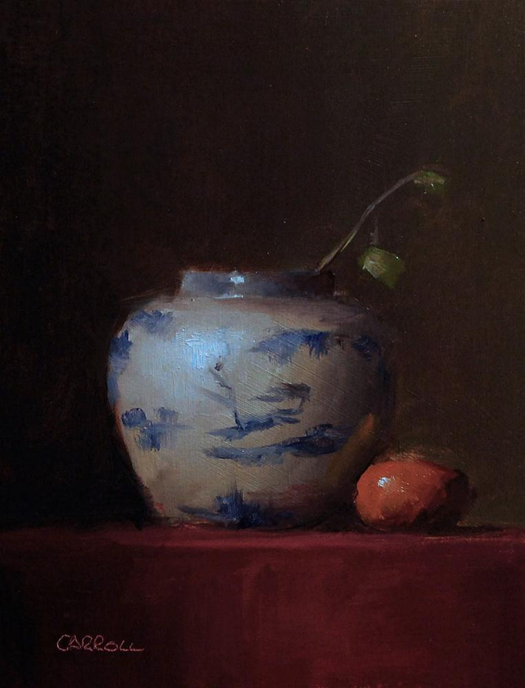 """Vase - study"" original fine art by Neil Carroll"
