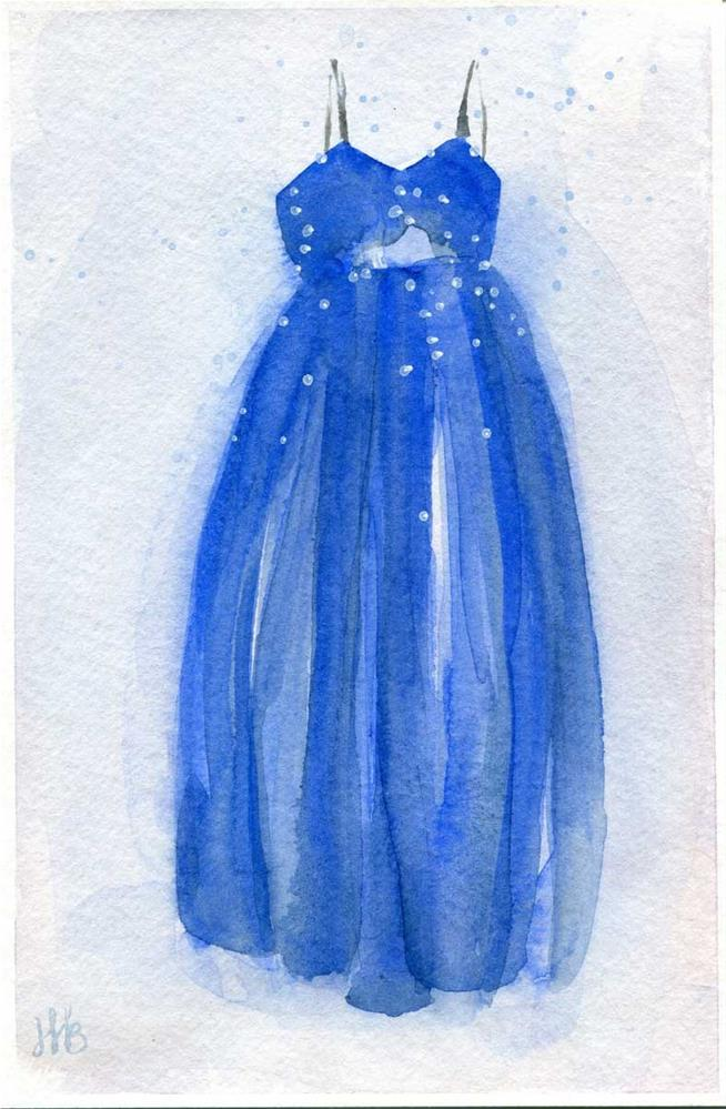 """Princess"" original fine art by Heather Bennett"