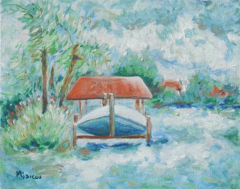 """""""Smack's Bayou"""" original fine art by Mj Dicus"""