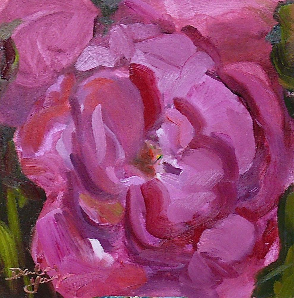 """Empress Rose Simplicity"" original fine art by Darlene Young"