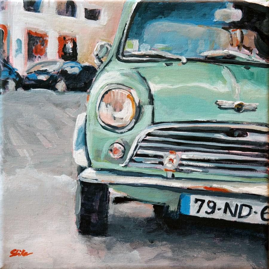 """1461 Mini-Me"" original fine art by Dietmar Stiller"