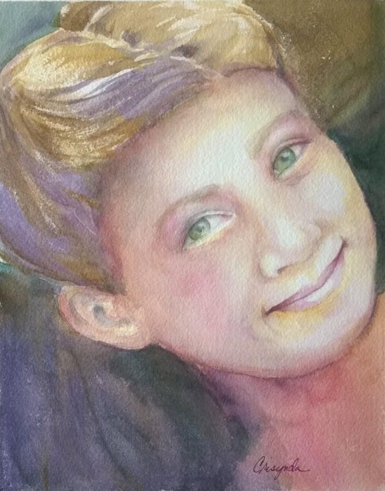 """Avery"" original fine art by Crisynda Buss"