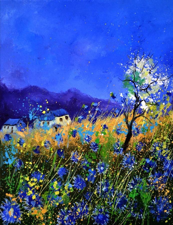 """summer 454140"" original fine art by Pol Ledent"
