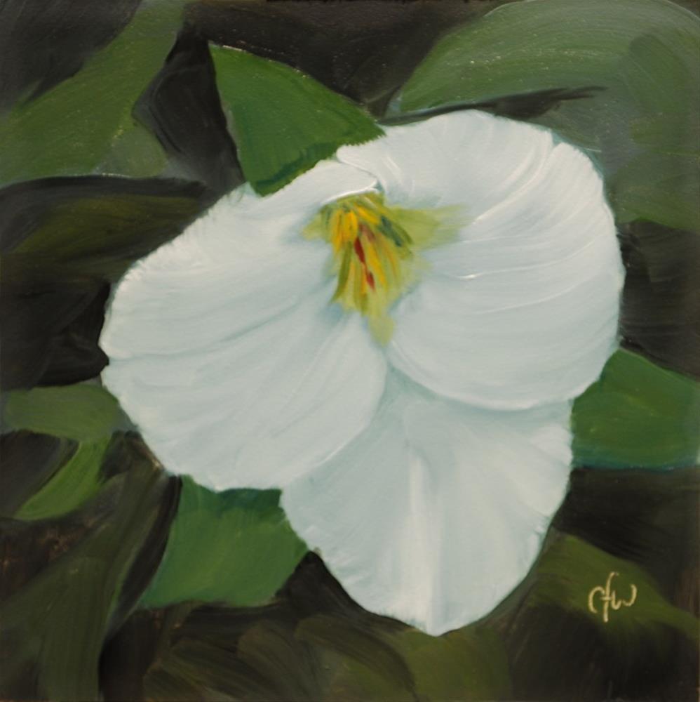 """Trillium"" original fine art by Gary Westlake"