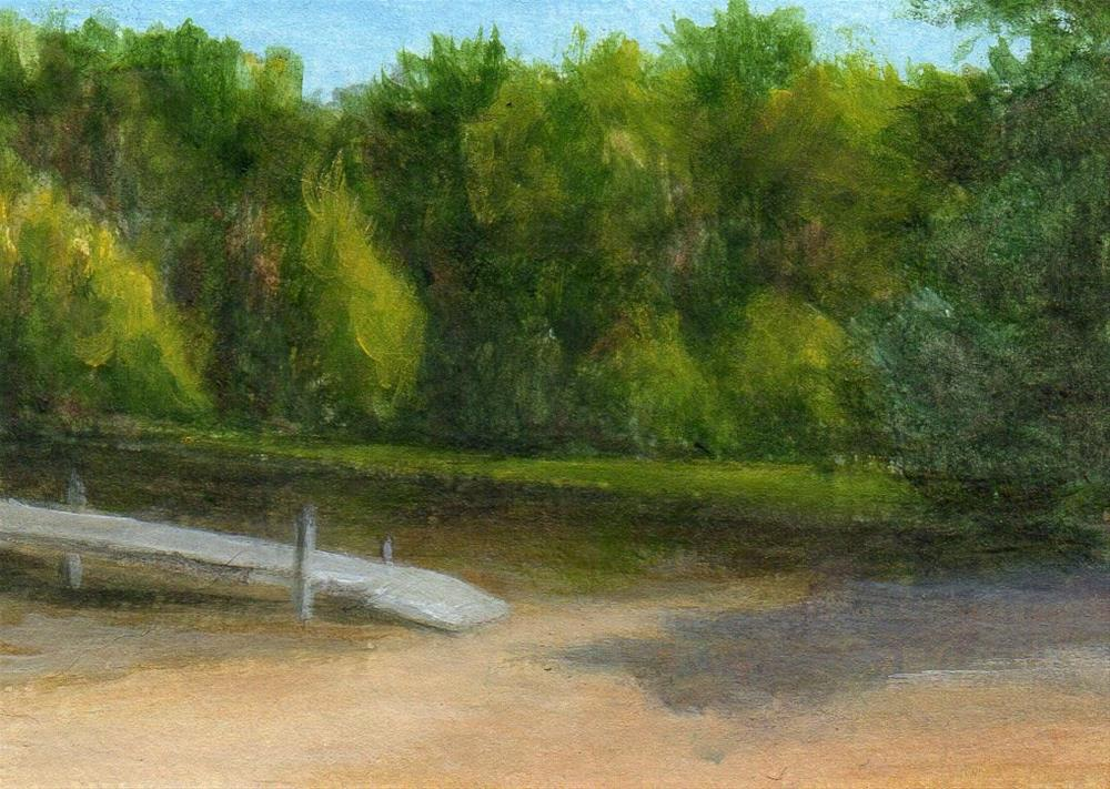 """Waiting for Summer"" original fine art by Debbie Shirley"