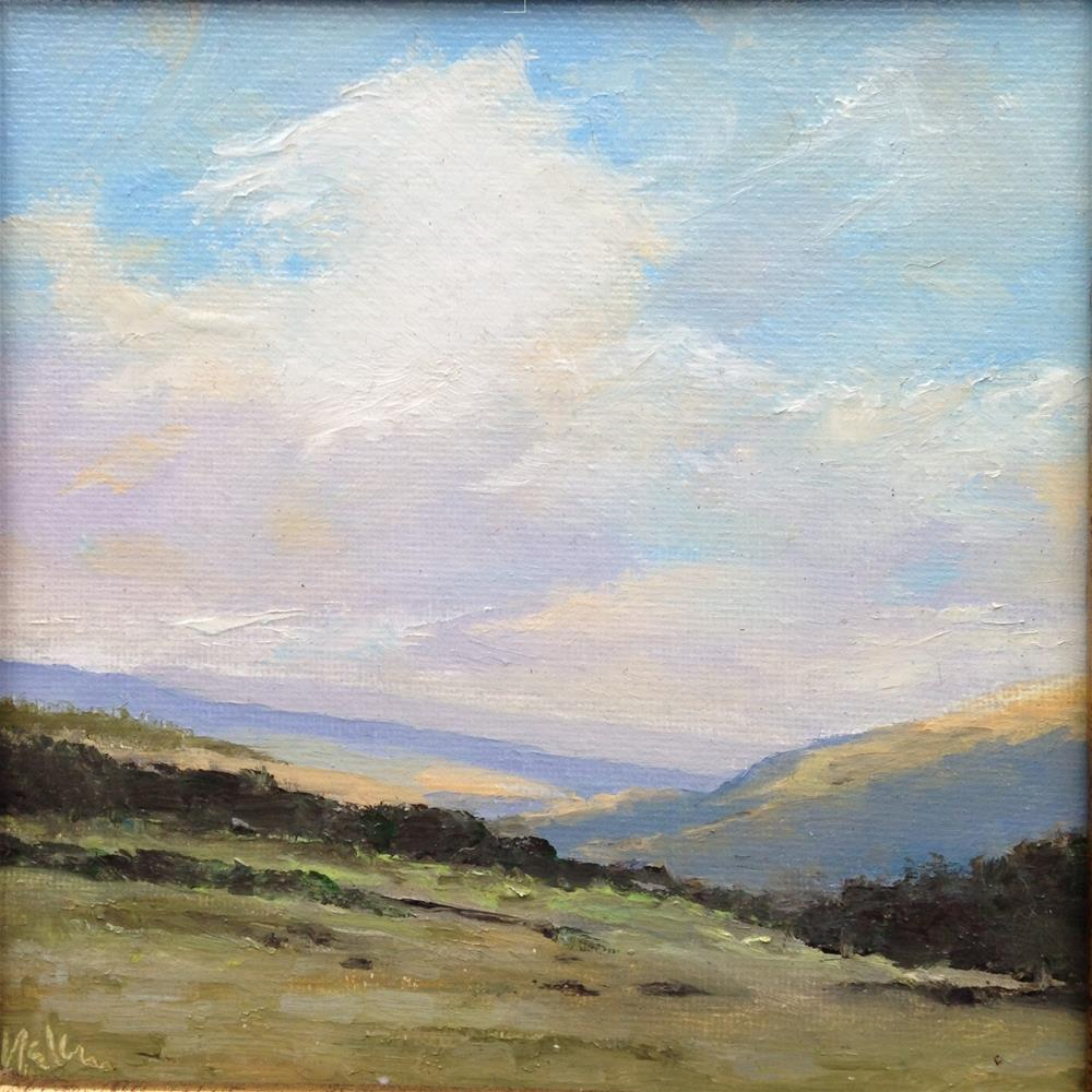 """""""Peaceful pastures"""" original fine art by Frank and Liangni Nelson"""