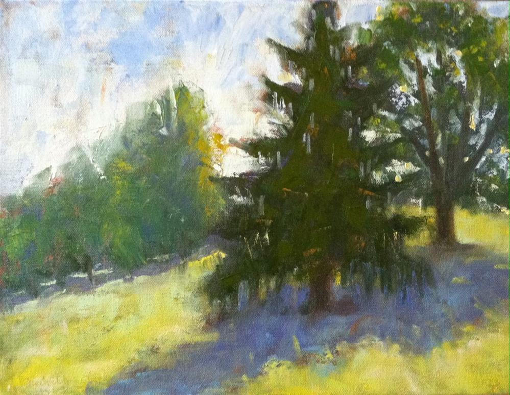 """Morning in Tinkling Spring"" original fine art by Katharine March"