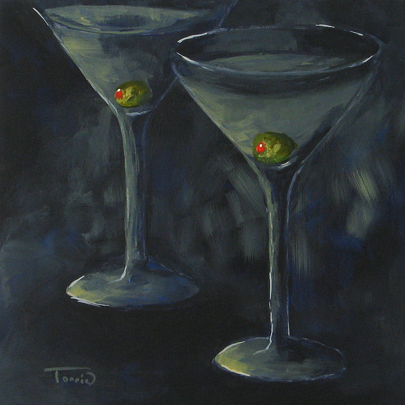 """Lurking Olives"" original fine art by Torrie Smiley"