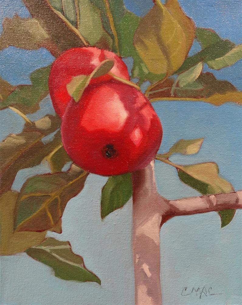 """""""Delicious"""" original fine art by Carolyn McDonald"""