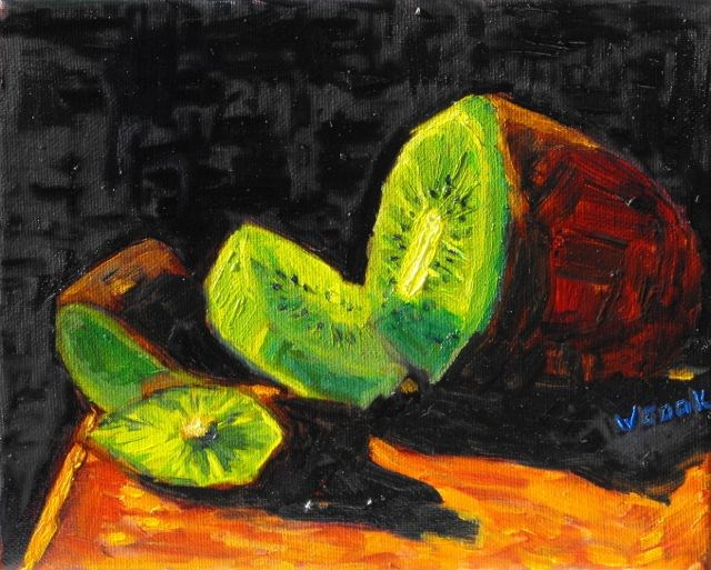 """Kiwi"" original fine art by William Cook"