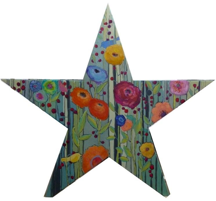 """Nest Among the Stars"" original fine art by Nancy Standlee"