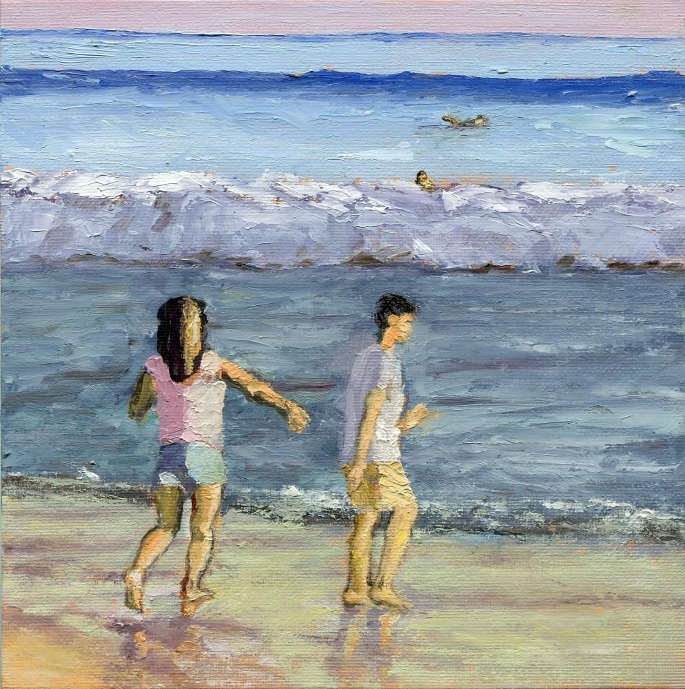 """Cold Feet"" original fine art by Stanley Epperson"