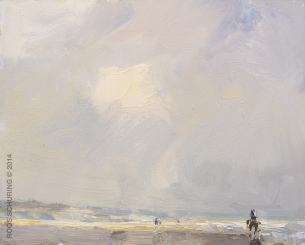 """SSP08-2014 Towards the Light"" original fine art by Roos Schuring"