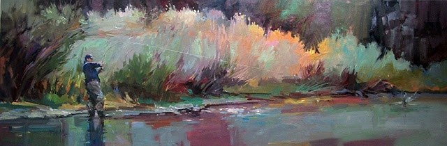 """Big Bend"" original fine art by Mary Maxam"