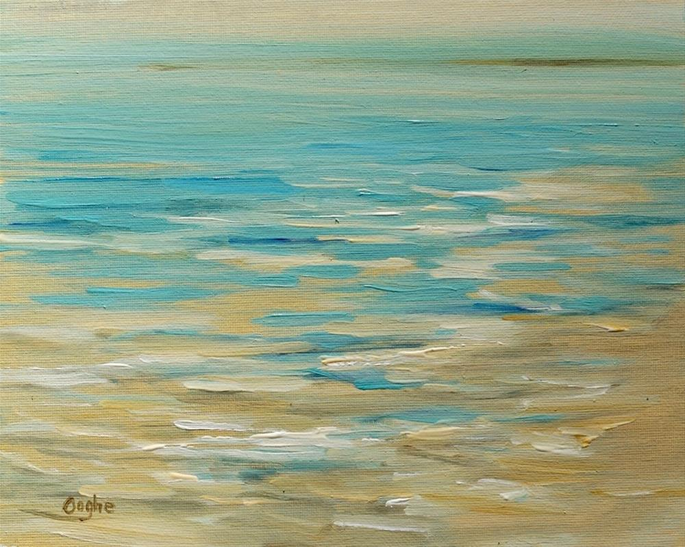 """Shoreline #1"" original fine art by Angela Ooghe"