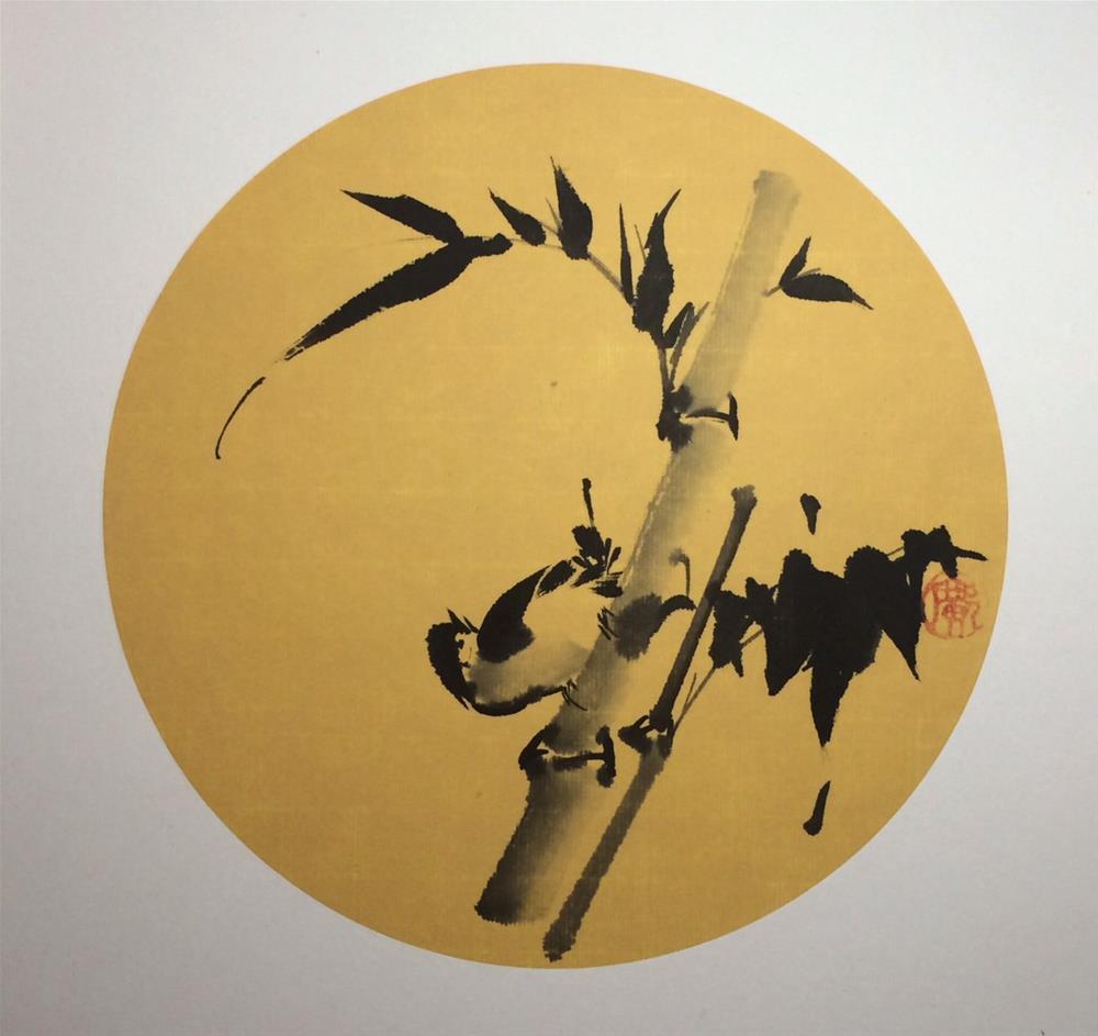 """Bamboo"" original fine art by R kwong"
