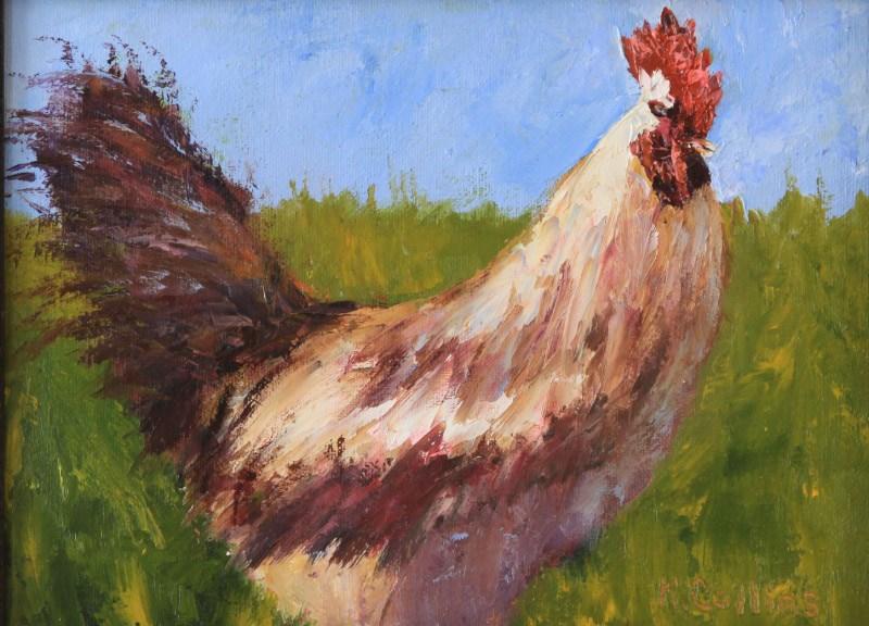 """""""Proud"""" original fine art by Kathy Collins"""