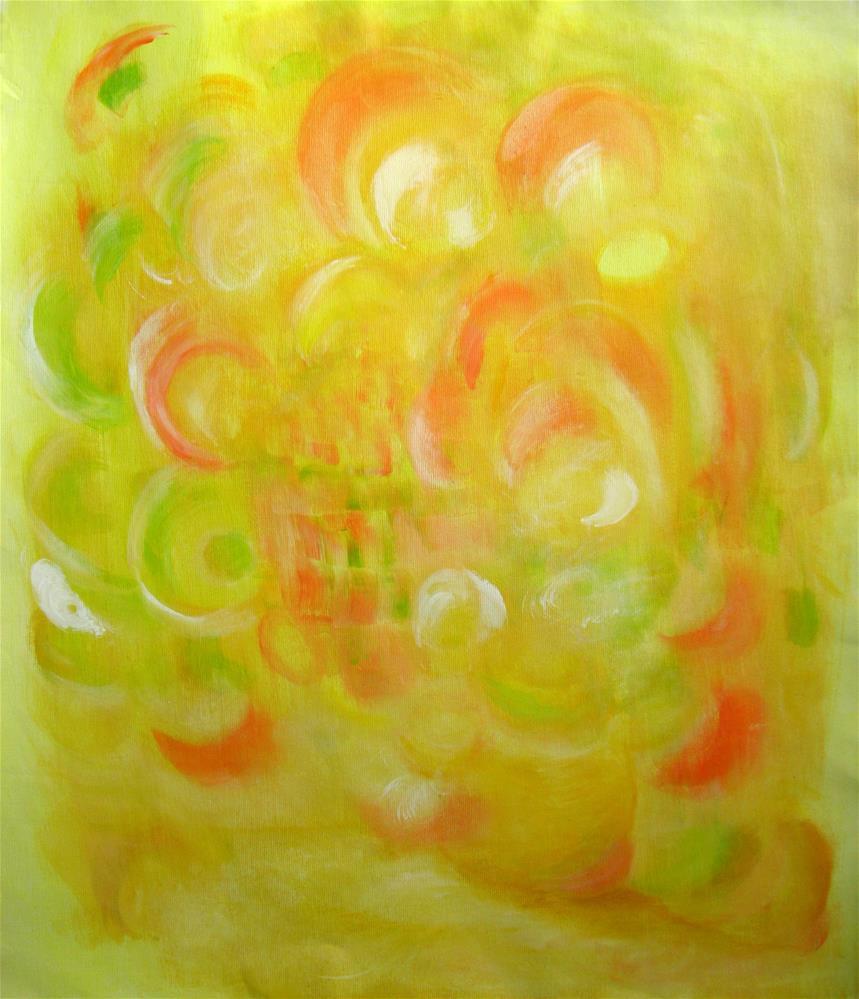 """Floral - Spring"" original fine art by Alina Frent"