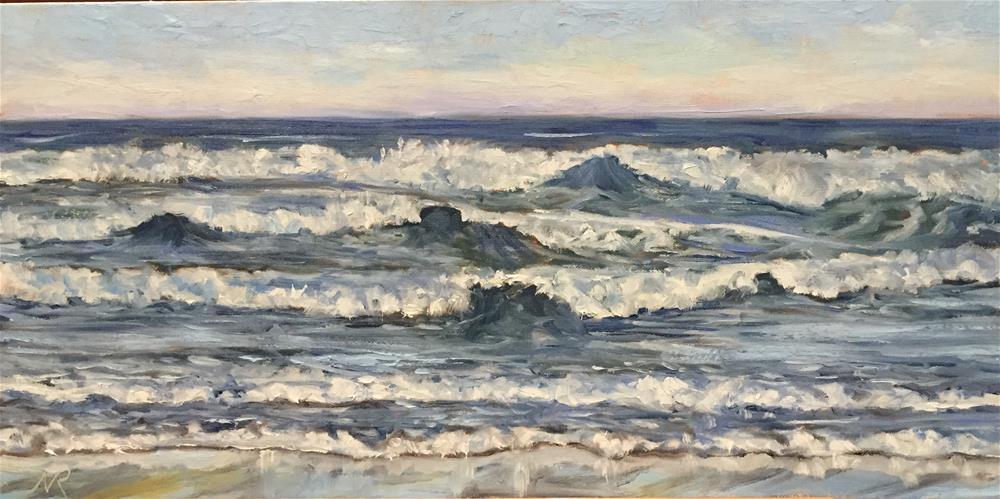 """The Mighty Pacific"" original fine art by Natasha Ramras"