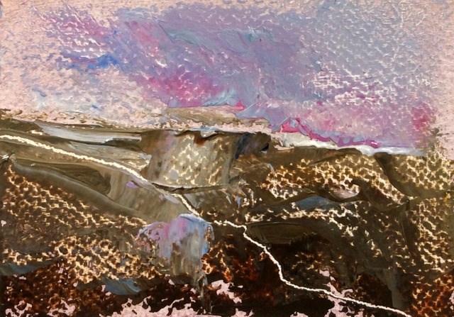 """Wild Place"" original fine art by Anne Wood"