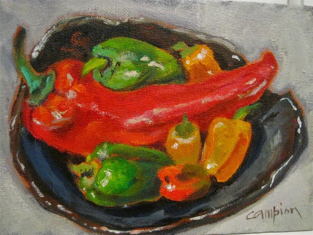 """489 Ripened"" original fine art by Diane Campion"