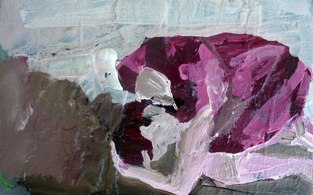 """liegende Figur 2 / lying figure 2"" original fine art by Mila Plaickner"
