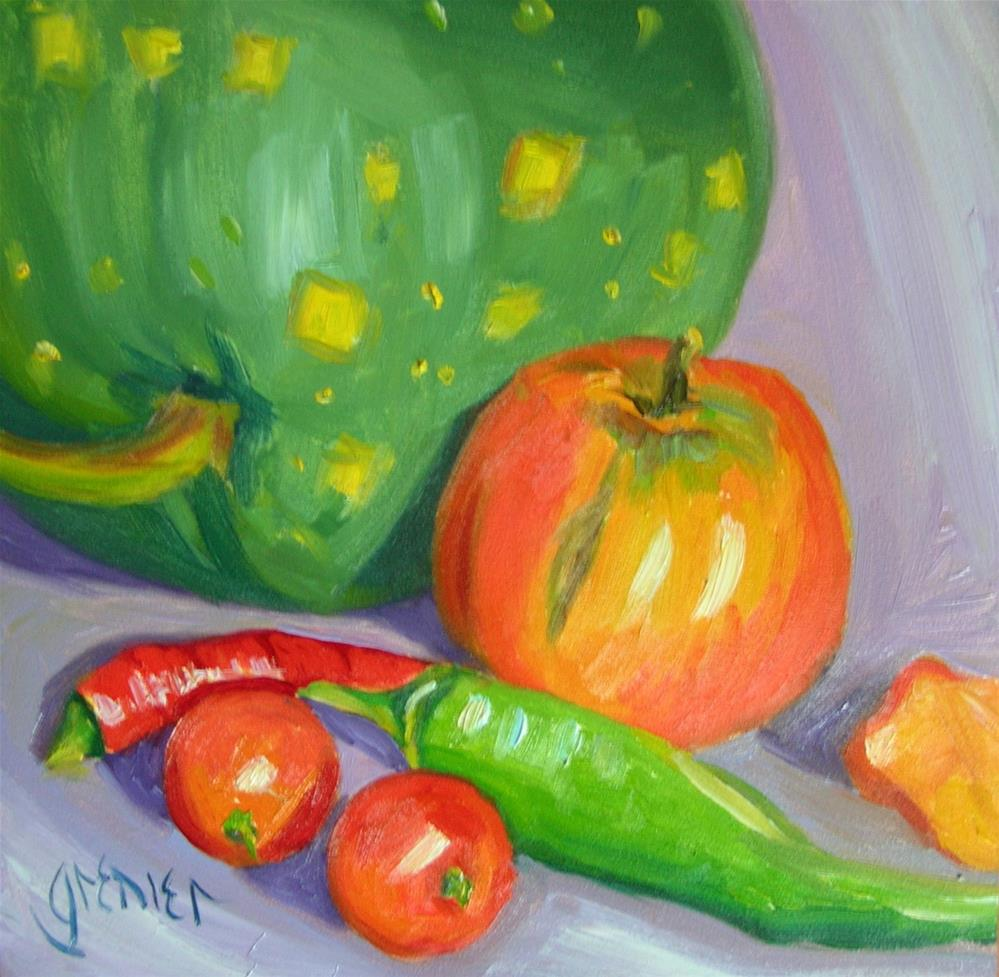 """Last Harvest"" original fine art by jean grenier"