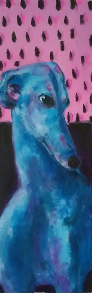 """Gianni"" original fine art by Hallie Dozier"