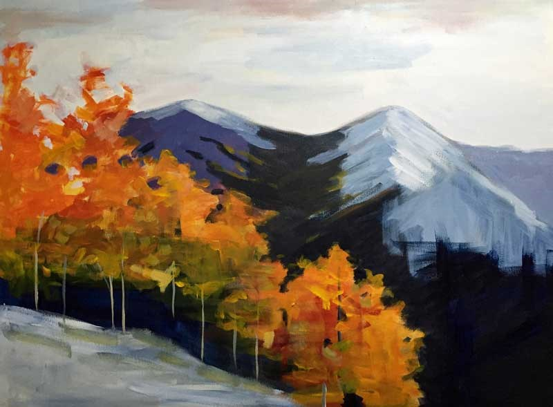 """Late September"" original fine art by Pamela Munger"